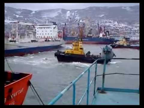 Работа в море -