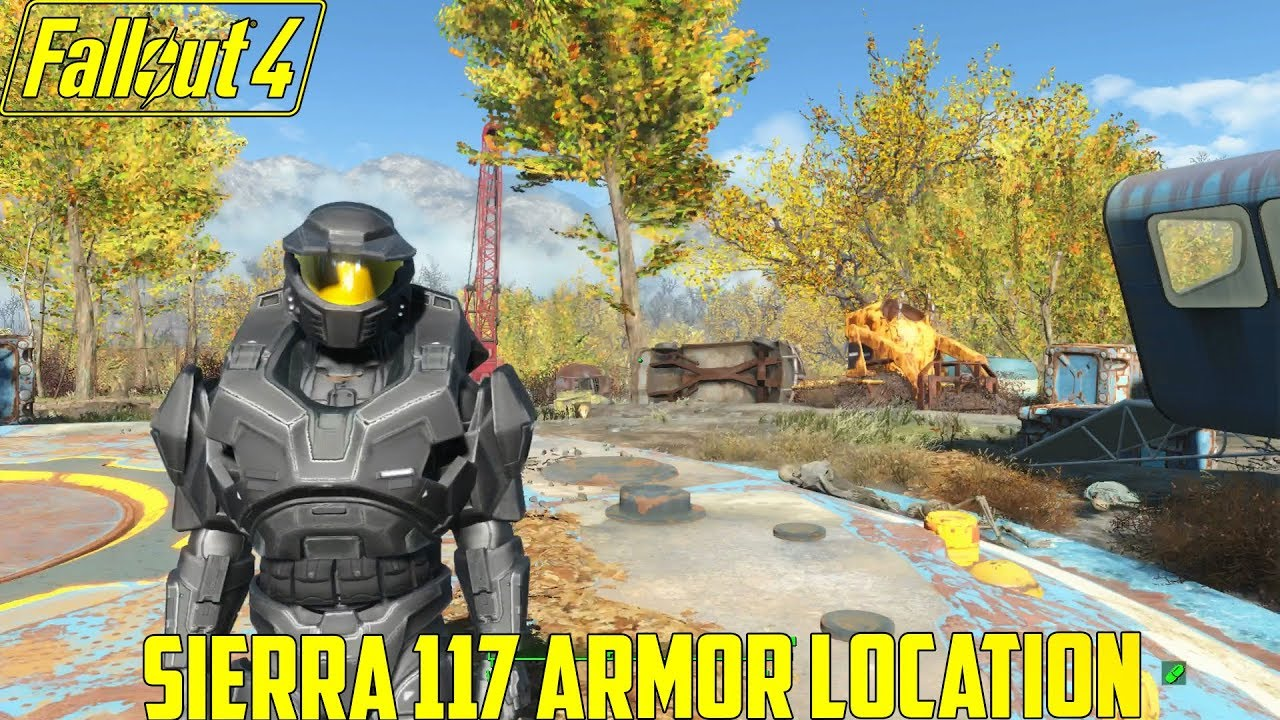 Fallout 4 Sierra 117 Armor Location Xbox One Mod YouTube