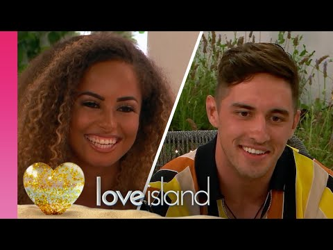 Amber's Luck Changes As She Goes On A Date With Greg | Love Island 2019