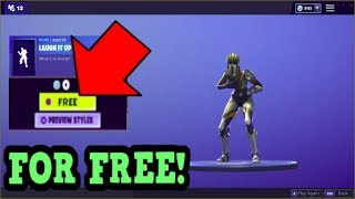 HOW TO GET LAUGH IT UP EMOTE FOR FREE! (Fortnite Old Emotes)