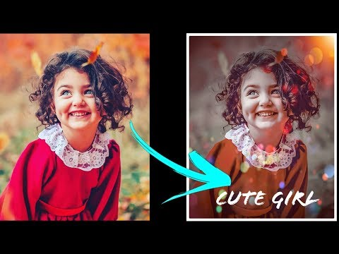 Dark Charming Effect With Bokeh Effect | Photoshop Tutorials | Satjal Brothers Production thumbnail