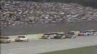1992 Winston 500 - Jimmy Spencer Crash