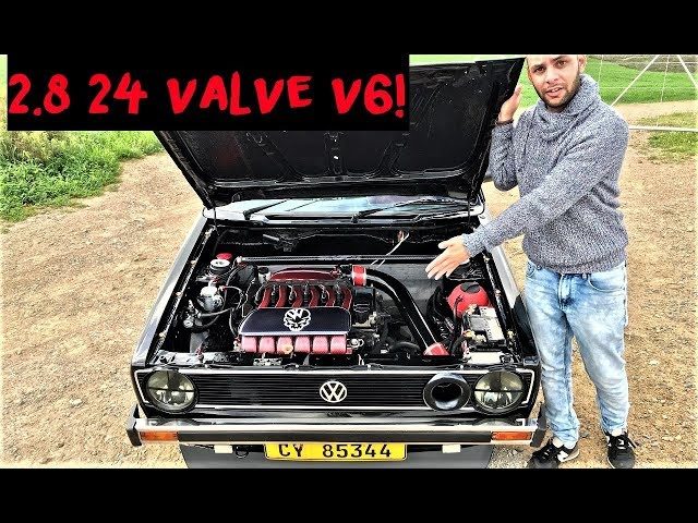 This VR6 Swapped VW MK1 Golf is incredible!