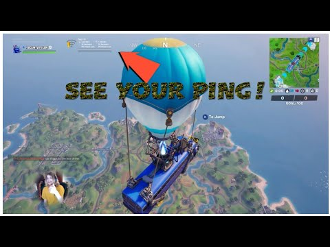 HOW TO SEE YOUR PING IN FORTNITE! (WORKING 2020) XBOXONE, PS4 AND PC