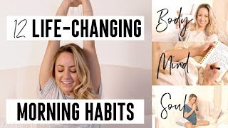 12 Healthy Self-Care Morning Habits that changed my life (+ PDF Download)