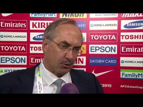 Post match Interview - Uli Stielike (Coach, Korea Republic)