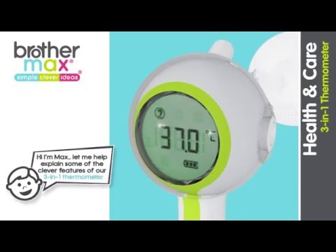 3 in 1 thermometer (Not Available in the UK)