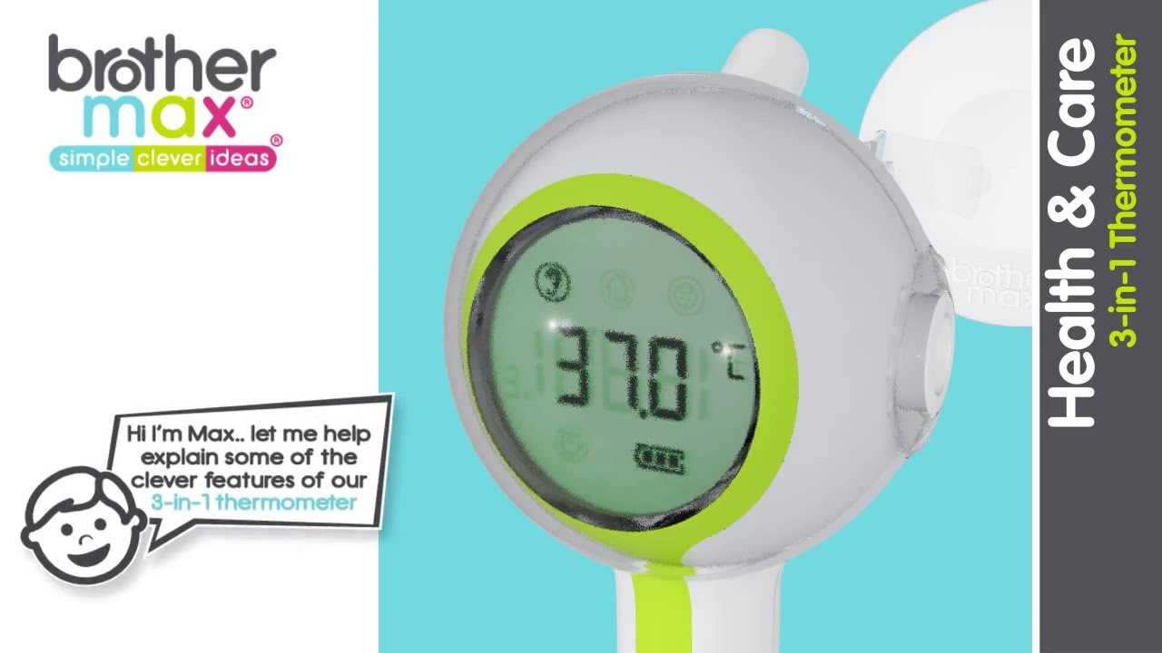 brother max 2 in 1 thermometer