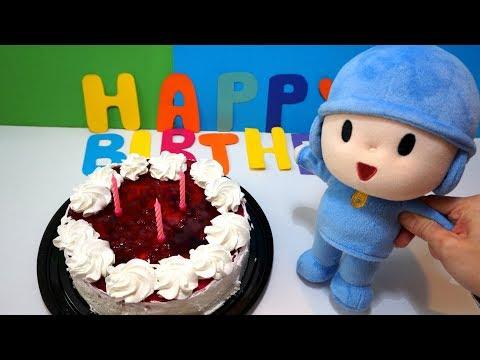 Pocoyo Happy Birthday to You Nursery Rhymes Song