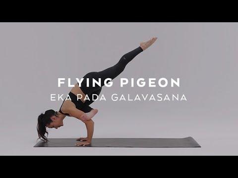 How to do Flying Pigeon | Eka Pada Galavasana Tutorial with Briohny Smyth