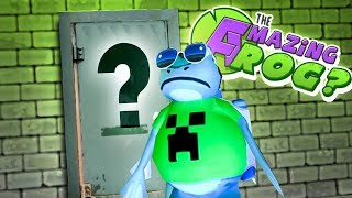 AMAZING FROG FINDS HIDDEN DOOR IN SEWERS!  - Amazing Frog Gameplay - Amazing Frog Magic Toilet