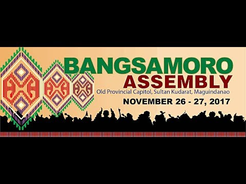 LIVE: BANGSAMORO ASSEMBLY