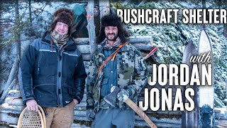 Primitive Bushcraft Survival Shelter with Fire & Living off the Land with Jordan Jonas of ALONE S6