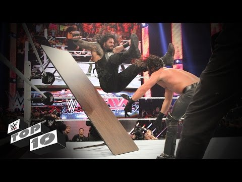 Thumbnail: Wildest Powerbombs: WWE Top 10