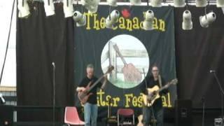 Don Alder & Michael Manring live performing Sayonara.calm