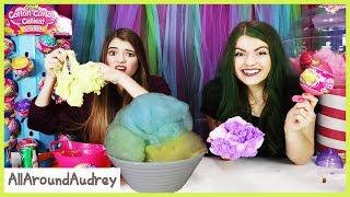 Slime Mixing With Cotton Candy Cuties / AllAroundAudrey