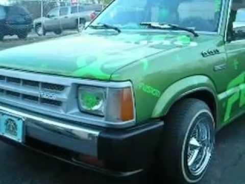 Kustum Kreations 1986 Mazda B2200 Fusion Truck.avi - YouTube
