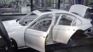 Как роботы красят машины БМВ + As robots color BMW car(Как роботы красят машины БМВ + As robots color BMW car., 2014-04-12T13:08:45.000Z)