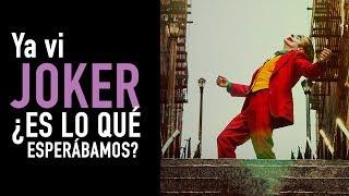 ¡Ya vi Joker! Primeras impresiones (Sin spoilers)