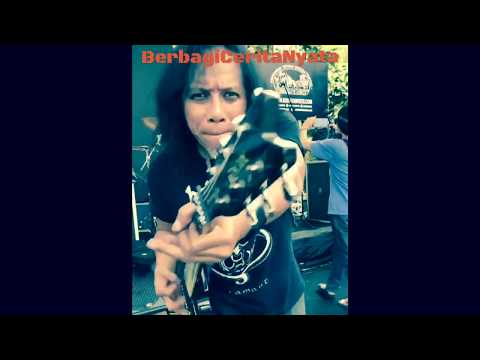 Gokil!!! Master Guitar Rock Eet Sjahranie saat check sound