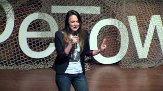 Laughing is a serious matter - stand up comedienne in South Africa: Angel Campey at TEDxCapeTown
