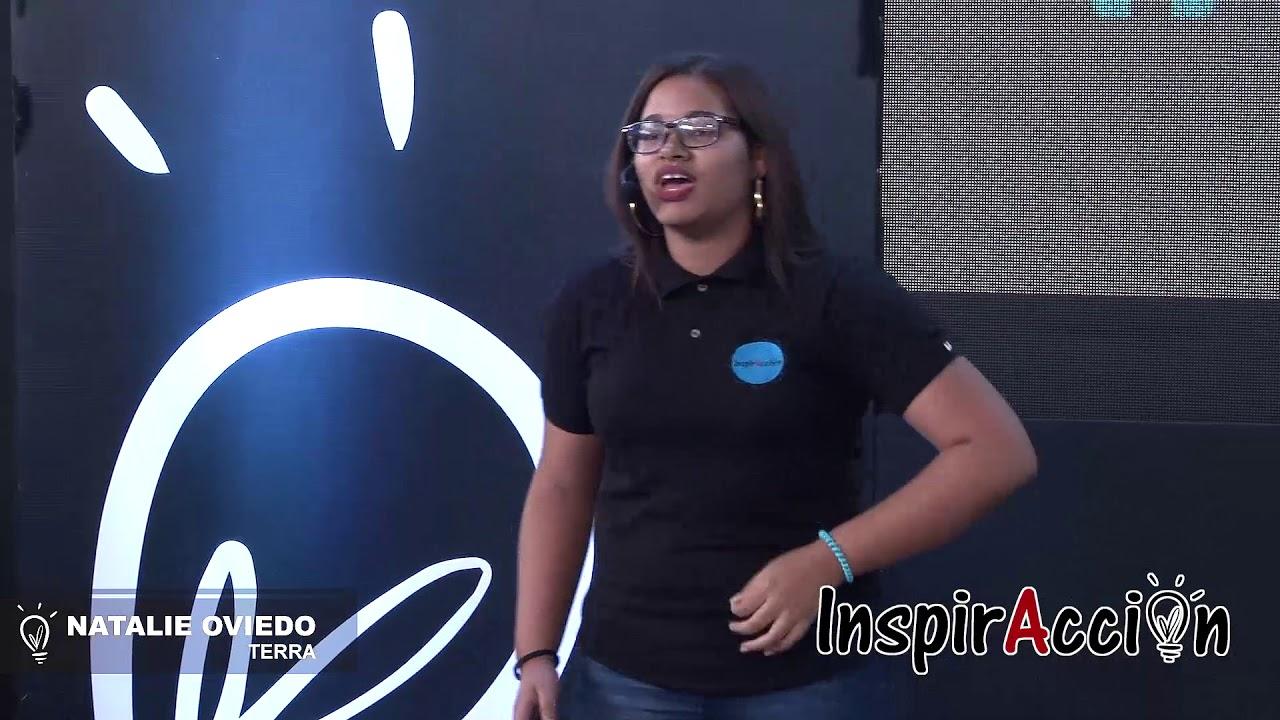 Discursos pronunciados por los finalistas de INSPIRACCION 2018 - NATALIE OVIEDO