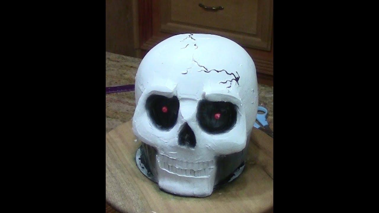 skull cake cake decorating youtube