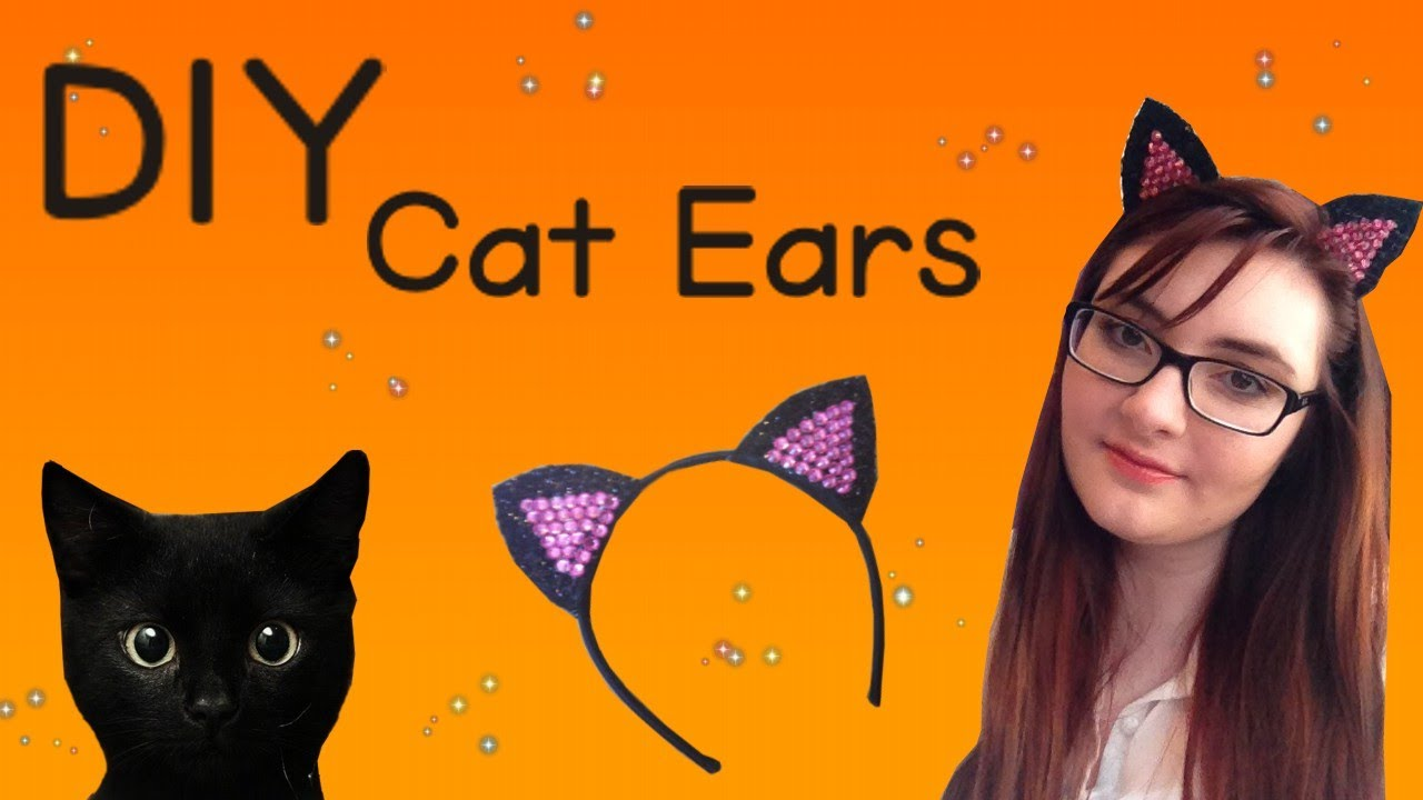 Cat hairstyles for Halloween-How to make cat ears using your own hair Cat Hairstyles for Halloween-DIY cat ears. Today I wanted to give a tutorial on how I do my cat hairstyles for Halloween using my own hair. These hairstyles are so easy and fun. Whenever I am in doubt and hurry, I .