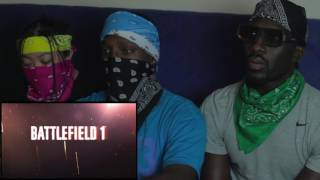 battlefield 1 official single player trailer reaction