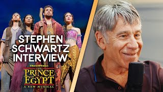 Backstage With... Composer & lyricist Stephen Schwartz on The Prince of Egypt