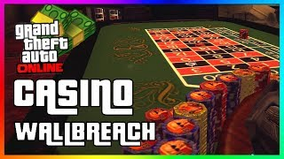 How To Get Inside The CASINO in GTA 5 Online | New Secret Wallbreach Location Glitch!