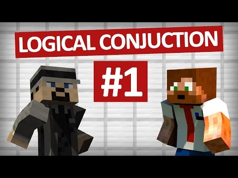 Minecraft Logical Conjuction - #1 - Jäkla parkour!!!