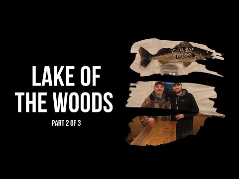 Lake Of The Woods 2019 Ice Fishing Trip (Part 2 Of 3)