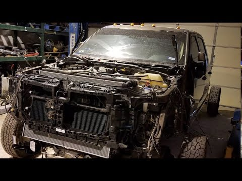 Auction 2017 Ford F350 Rebuild Part 13