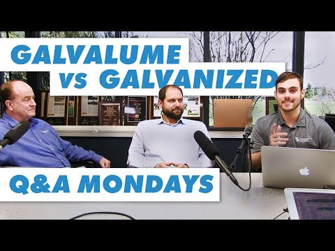 Galvalume® vs  Galvanized: Which is Better? - YouTube