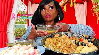 Deshelled King Crab & Sushi