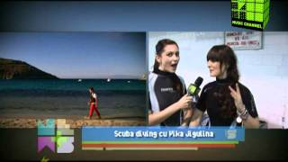 Music Channel - Scuba diving cu Vika Jigulina