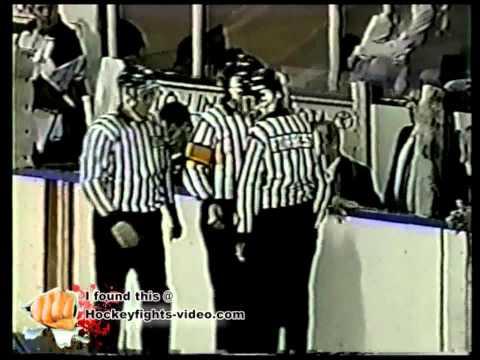 9394 Steve Nimigon vs Craig Lutes Niagara Falls Thunder vs Windsor Spitfires OHL