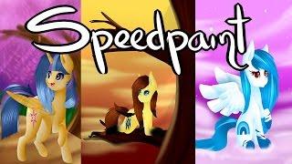 More Art Trades -Mlp Speedpaint-