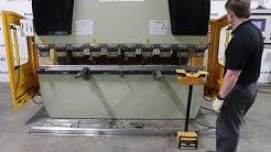 U.S. Industrial US888 88 Ton x 8' Hydraulic CNC Press Brake