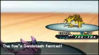 Pokemon B/W 2 - Clay battle