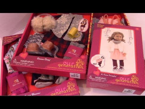 Opening Our Generation Fall Outfits for American Girl Dolls 3