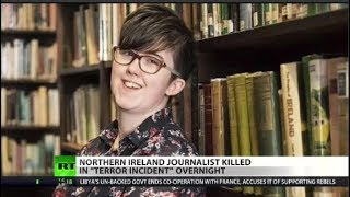 Young journalist killed covering IRA protests