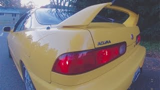 TEST DRIVE: 2000 Acura Integra Type R B18C5