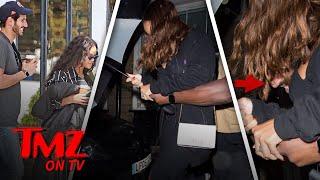 Rihanna Has Something Under Her Umbrella | TMZ TV