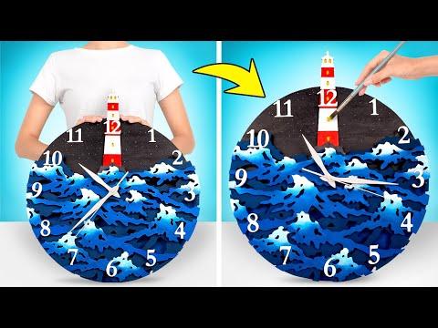 DIY A Sea-Themed Clock