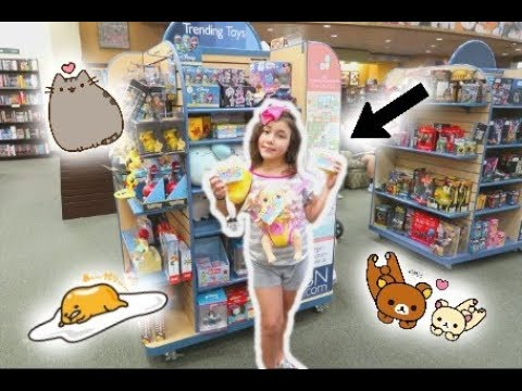 SQUISHIES, SLIME, AND EVERYTHING KAWAII AT BARNES AND NOBLE!