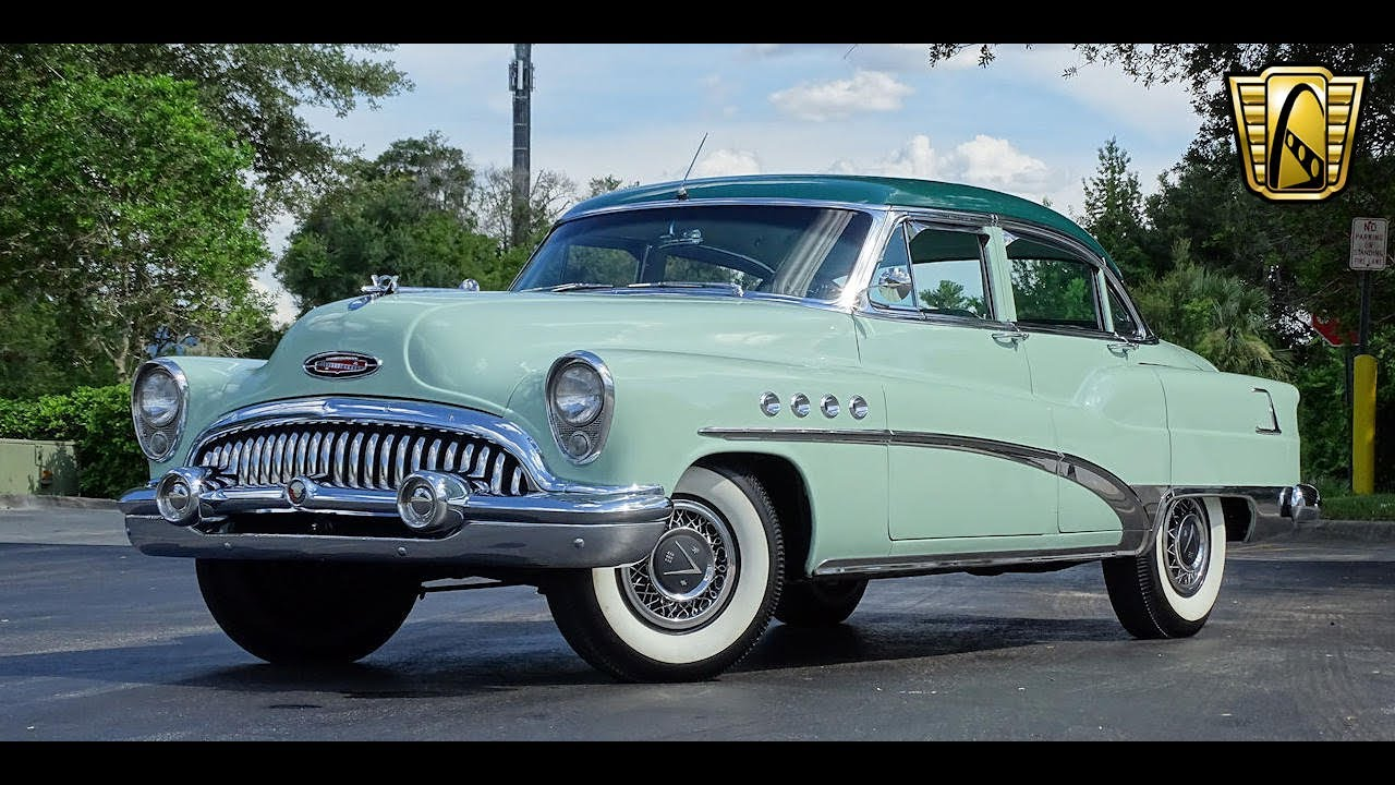 1953 Buick Roadmaster Gateway Orlando #877 - YouTube