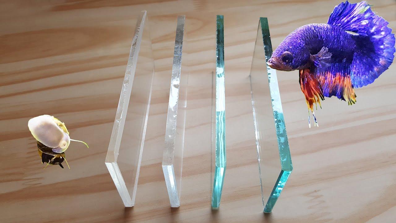 acrylic vs low iron glass vs regular glass aquarium youtube. Black Bedroom Furniture Sets. Home Design Ideas