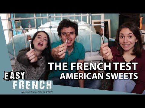 French people try American sweets | Super Easy French 29